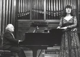 Miguel Zanetti y Mª José Montiel. Concierto Con motivo de la Presentación del libro Federico García Lorca y la música por Roger D. Tinnell - [Concierto especial 38] , 1993