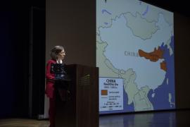 Isabel Cervera. Ciclos de conferencias: Cerámica antigua de tres continentes (III). Cerámica y cultura en China, 2017