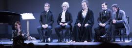 Borja Mariño,  Rita Cosentino,  Pablo García-López y  Ivo Stanchez. Concierto/Recitales para Jóvenes: Curso 2016-2017. Mozart y Salieri, de Nikolái Rimski-Kórsakov, 2017