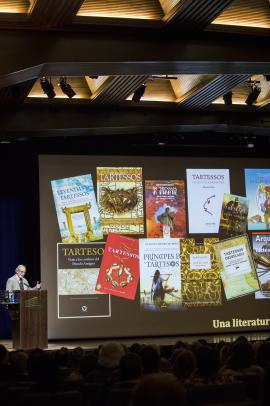 Sebastián Celestino. Ciclos de conferencias: Iberia antes de Roma. Los pueblos que habitaron la península (IV). Tarteso. Una realidad histórica, 2017