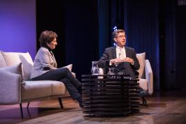 Victoria Prego y  Antonio San José. Conversaciones en la Fundación: Victoria Prego, 2017