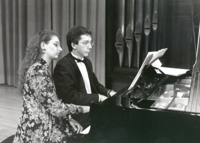 Irini Gaitani y Julio Muñoz. Recital de dúo de piano