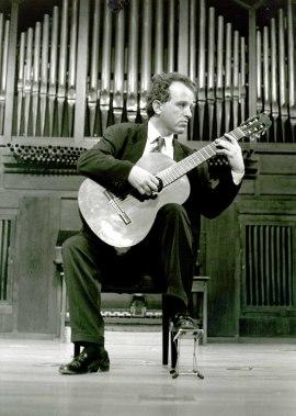 Reinhold Bohrer. Recital de guitarra , 1993