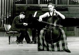 Suzana Stefanovic y Mac McClure. Concierto El violonchelo romántico , 1993
