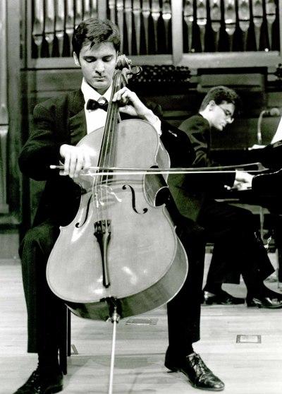 Aldo Mato y Carlos Apellániz. Concierto Escuela Superior de Música Reina Sofía