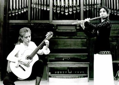Lidia Martín y Amaya Oliver. Recital de flauta y guitarra
