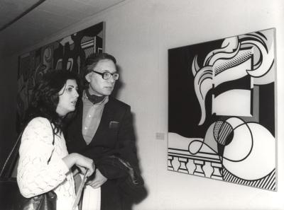 Francisco Umbral. Exposición Roy Lichtenstein 1970-1980