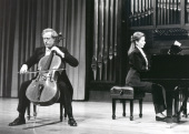Paul Friedhoff y Eugenia Gabrieluk. Concierto El violonchelo romántico , 1993