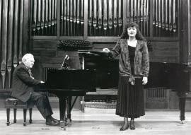 Miguel Zanetti y Mª José Montiel. Recitales para Jóvenes, 1993