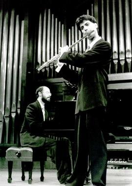 Manuel Rodríguez Arribas y Sebastián Mariné. Recital de flauta y piano , 1993
