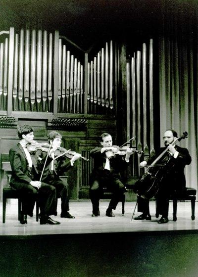 Silvestri String Quartet. Concierto Tchaikovsky: canciones e integral de música de cámara