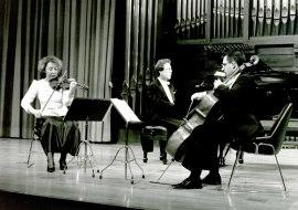 Carmen Tricás, Luis José Ruiz y Agustín Serrano. Concierto Grieg: música de cámara , 1993