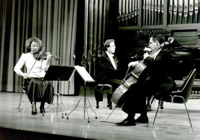 Carmen Tricás, Luis José Ruiz y Agustín Serrano. Concierto Grieg: música de cámara