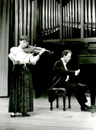 Isabel Gayoso y Agustín Serrano. Concierto Grieg: música de cámara