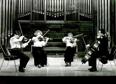 Cuarteto Tema, Isabel Gayoso, Carmen Tricás, Teresa Gómez y José Luis Ruíz. Concierto Grieg: música de cámara