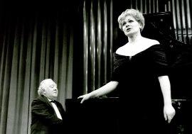 Glafira Pralat y Miguel Zanetti. Concierto Tchaikovsky: canciones e integral de música de cámara , 1993