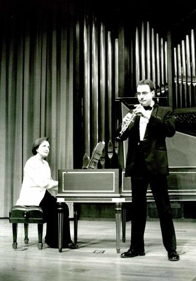 Francisco Castillo y Madrona Elías. Concierto Del oboe barroco al contemporáneo