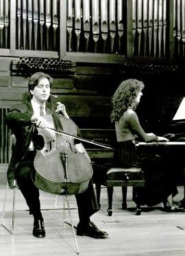 Ricardo Sciammarella y Eva Pereda Ansa. Recital de violonchelo y piano , 1993