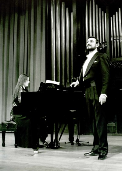 Vladimir Karimi y Victoria Pogosova. Concierto Tchaikovsky: canciones e integral de música de cámara