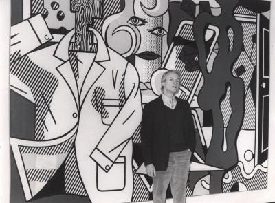 Roy Lichtenstein. Exposición Roy Lichtenstein 1970-1980