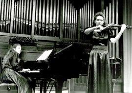 Eva León y Natalia Koval. Recital de violín y piano , 1993