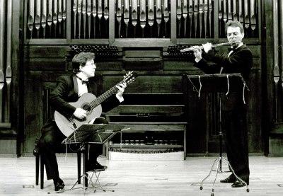 Raul Pérez y Piotr Krawczyk. Recital de flauta y guitarra
