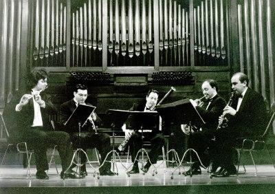 Aulos Madrid, Quinteto de viento. Concierto Músicas para viento