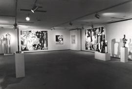Vista parcial de la exposición Roy Lichtenstein 1970-1980, 1983