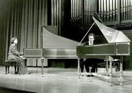 Madrona Elías y Jordi Reguant. Concierto Dúos en pareja , 1994