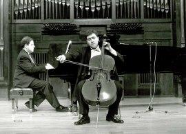 Asier Polo Bilbao y Ángel Chavaldas. Recital de violonchelo y piano , 1994
