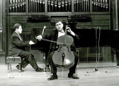 Asier Polo Bilbao y Ángel Chavaldas. Recital de violonchelo y piano