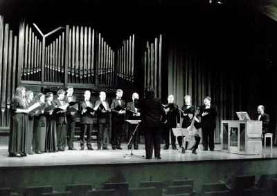 Capilla Real de Madrid y Oscar Gershensohn. Concierto Palestrina y sus contemporáneos