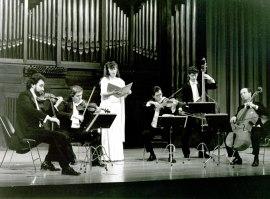 El grupo musical El Siglo de Oro. Concierto Dúos en pareja , 1994