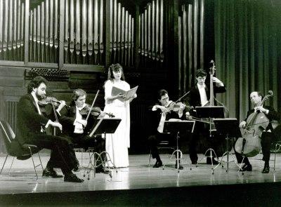 El grupo musical El Siglo de Oro. Concierto Dúos en pareja