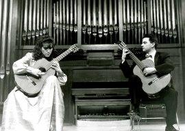 Carmen María Ros y Miguel García. Concierto Dúos en pareja , 1994