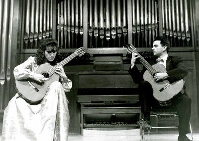 Carmen María Ros y Miguel García. Concierto Dúos en pareja