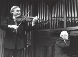 Emilio Mateu y Miguel Zanetti. Concierto Aula de (Re)estrenos [18] , 1994