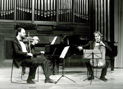 Trío Antonin Dvorak, Juri Hurnik, Frantisek Maly y Daniel Veis. Concierto Música de cámara francesa