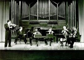 Cuarteto de Cuerda de Córdoba, Santiago de la Riva y Ángel Gago Bádenas. Concierto Música de cámara francesa , 1994