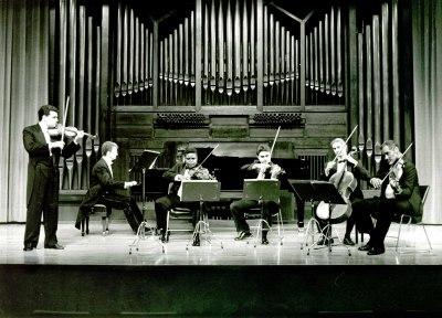 Cuarteto de Cuerda de Córdoba, Santiago de la Riva y Ángel Gago Bádenas. Concierto Música de cámara francesa