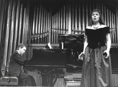 Fernando Turina y Inma Egido. Concierto Joaquín Turina (1994)