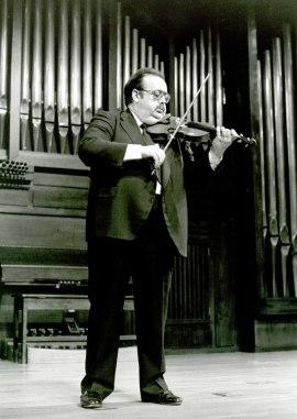Ángel Jesús García. Concierto Música para violín solo, 1994
