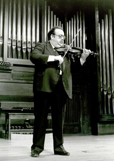 Ángel Jesús García. Concierto Música para violín solo