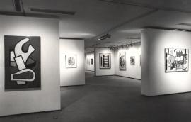 Vista parcial de la exposición Fernand Léger, 1983