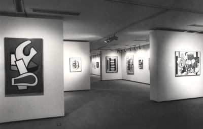 Vista parcial de la exposición Fernand Léger