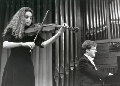 Rona Tavior y Aníbal Bañados. Recital de viola y piano