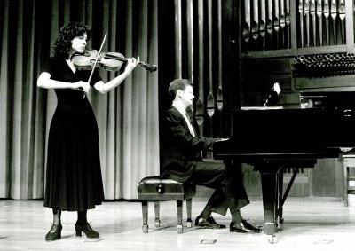 Ana Borrego y Francisco Luis Santiago. Recital de viola y piano