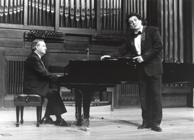 Ernesto Crisales y Luis Celada. Recital de canto y piano