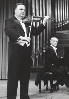 Pedro León y Julián López Gimeno. Concierto Aula de (Re)estrenos (20) , 1994