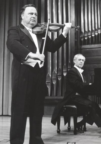 Pedro León y Julián López Gimeno. Concierto Aula de (Re)estrenos (20)